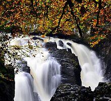 Falls of Braan 2 by GillBell