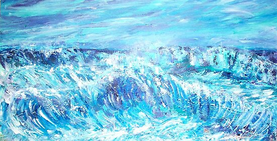Rough Waters  by Mary Sedici