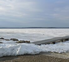 Winter Sun On Worden's Pond - Series 2011 - by Jack McCabe
