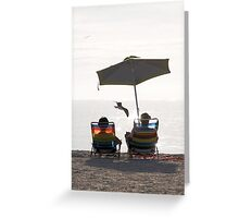Florida Gulf Coast airshow Greeting Card