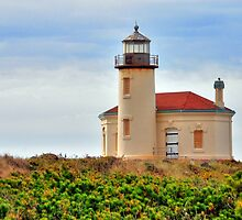 Coquille Lighthouse by Jennifer Hulbert-Hortman