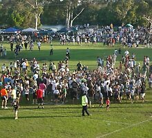 The afternoon the 'Mighty Magpies' won the grand final by myraj