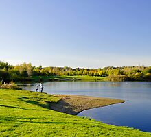 Around Barton Marina Lake by Rod Johnson