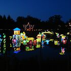 Montreal Botanical Garden Chinese Lanterns 2 by Pierre Frigon