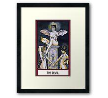 The Devil - Card Framed Print