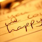 Happy Letter by Lynn Ede