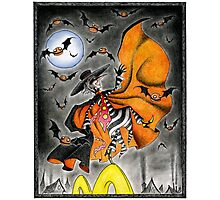 Dance of the Hamburglar, or, Do the Robble Robble Photographic Print