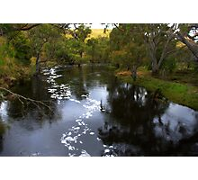 The Glenelg river Photographic Print