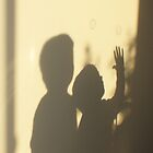 Shadow Play - brothers by Dona Tantirimudalige