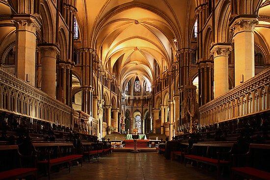 Canterbury Cathedral by Irina Chuckowree