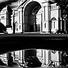 Puddle at the Exhibition by fotoWerner