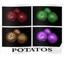 potato trio: quatro Poster