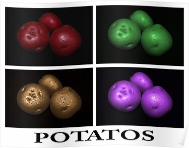 potato trio: quatro by dedmanshootn