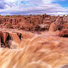 Orange river by Rudi Venter