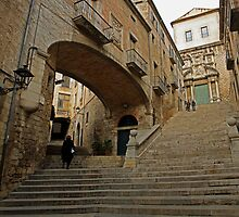 Girona steps by Esther  Moliné