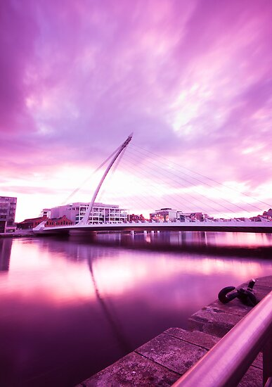 Samuel Beckett Bridge by Alessio Michelini