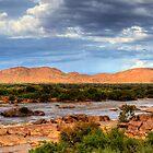 Water in the desert by Rudi Venter