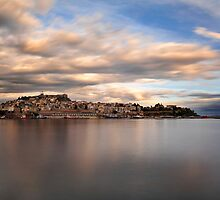 Panorama Of Kavala, Greece by FOTIS MAVROUDAKIS