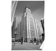 Minneapolis Skyscrapers Poster
