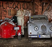 Two fine cars by Uwe Rothuysen
