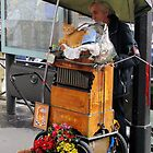 Paris Street Organist by Pierre Frigon