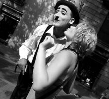 Kiss Mr.Chaplin by KatrinKirieshka