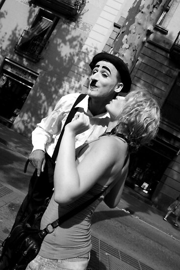 Kiss Mr.Chaplin by KatrinKirieshka