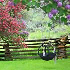 The Old Tire Swing by © Betty E Duncan ~ Blue Mountain Blessings Photography