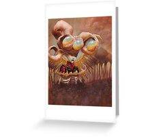 The Shepherd and the Plague Greeting Card