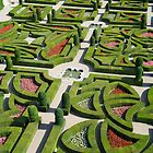 The  love garden, Chateau Villandry, Loire Valley by cpcphoto