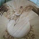 WHOOPING CRANE BOWL by lynnieB