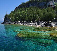 Georgian Bay from Bruce Peninsula by Trivz Photography