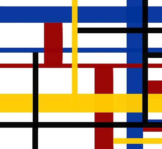 A Mondrian Mood by Vanessa Barklay