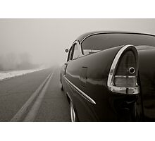 'Into the Fog' Photographic Print