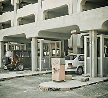 Parking's different in Kuwait by NicoleBPhotos