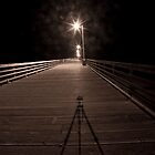 Alone on the Pier by bouldercreek