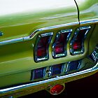 Mustang Rear (Close up) by Stuart Row