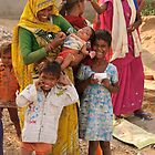 Builders / Childminders in India by Christopher Cullen