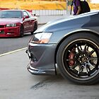 Evo IX and R34 GT by GoldZilla
