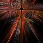 Fractal Cross by Ann Garrett
