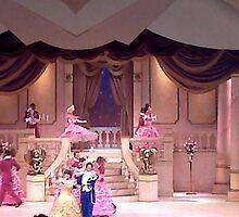 Beauty and the Beast; a Lovely Scene by Ethar Hamid