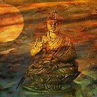 Buddha Dusk by Gilberte