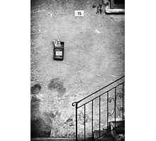 Fifteen and Mailbox Photographic Print