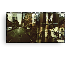 Streets of Portland 2 Canvas Print