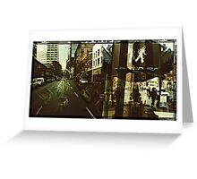 Streets of Portland 2 Greeting Card