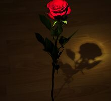 One Red Rose by Svetlana Sewell