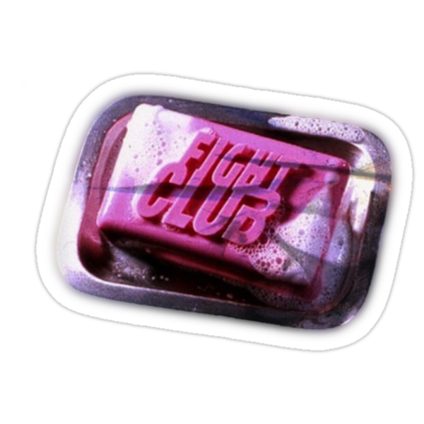 Fight Club Soap - Stick by Guilherme Bermêo
