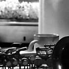 Coffee, Sax and Popcorn by Amy Lowe