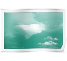 clouded Poster