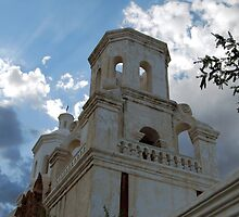 San Xavier Church Tower by Bellissimoyou